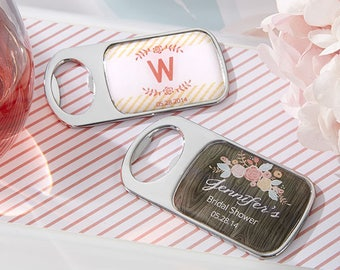 Personalized Bottle Opener Bridal Shower Favors - Bridal Shower Party Favors - Rustic Bridal Shower Gift - Wedding (11141RR)
