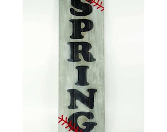 Custom made Baseball sign - Wooden - Spring / Summer