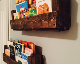 Two Book Shelves