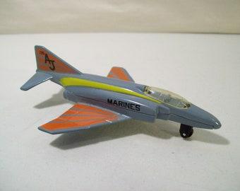 Vintage Matchbox SB 15 Phantom F4E Marines Die-Cast Fighter Jet Airplane, 1975, Lesney