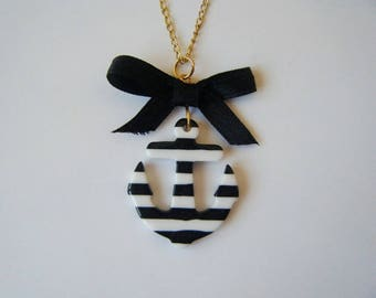 Anchor pendant Navy In the navy ♥ black ♥