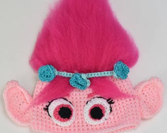 Princess Poppy Troll Hat 6-12m