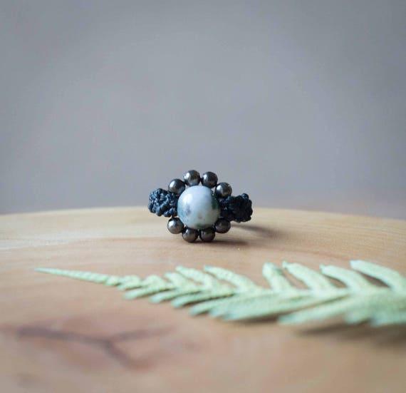 Elven black ring