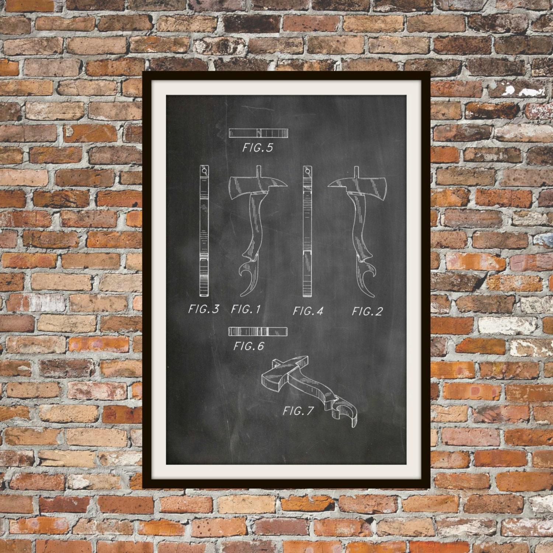 Blueprint arte de hacha de bombero bomberos dibujos tcnicos ampliar malvernweather Image collections