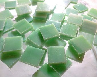 MINT JULEP OPAL Light Green Tile Streaky Stained Glass Supply A27