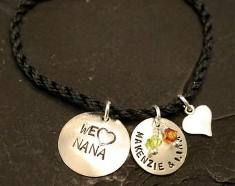 We love Nana/Mom/Grandma Bracelet
