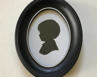 Silhouette Frame with Silver Lip