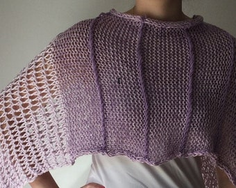 Purple Poncho Red