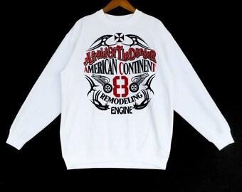American Continant Sweatshirt Large Size
