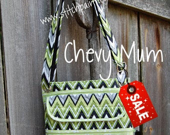 Quilted Mini Zip XL - Chevy Mum