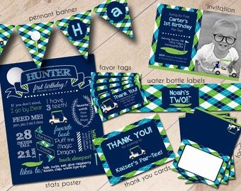 Golf Pro Shop Hole in One First Birthday Party Package