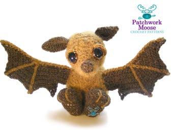 Bat Amigurumi Crochet Pattern PDF Instant Download - Otis