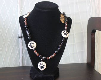 Puppy Paw Necklace