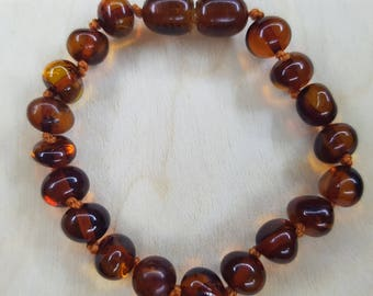 Genuine Amber Child Bracelet