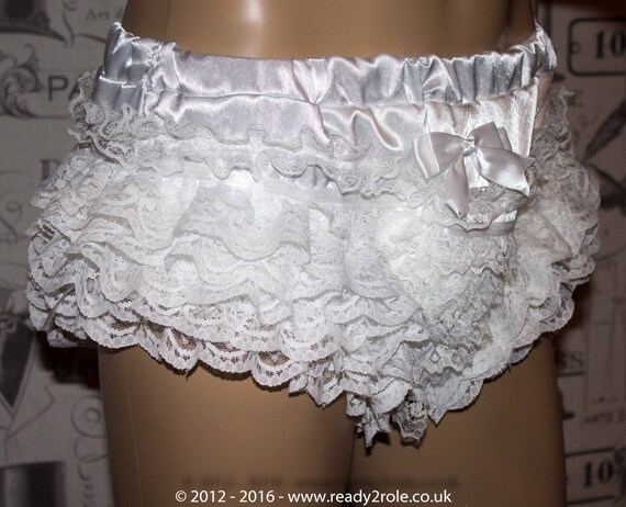 The Sophie Satin Frilly Panties f29WxPQskr