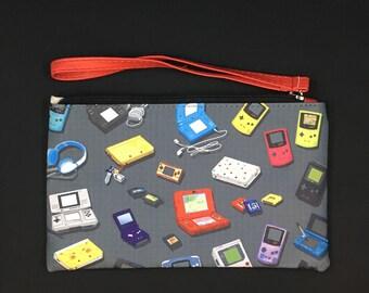 Gaming Handhelds Zipper Bag