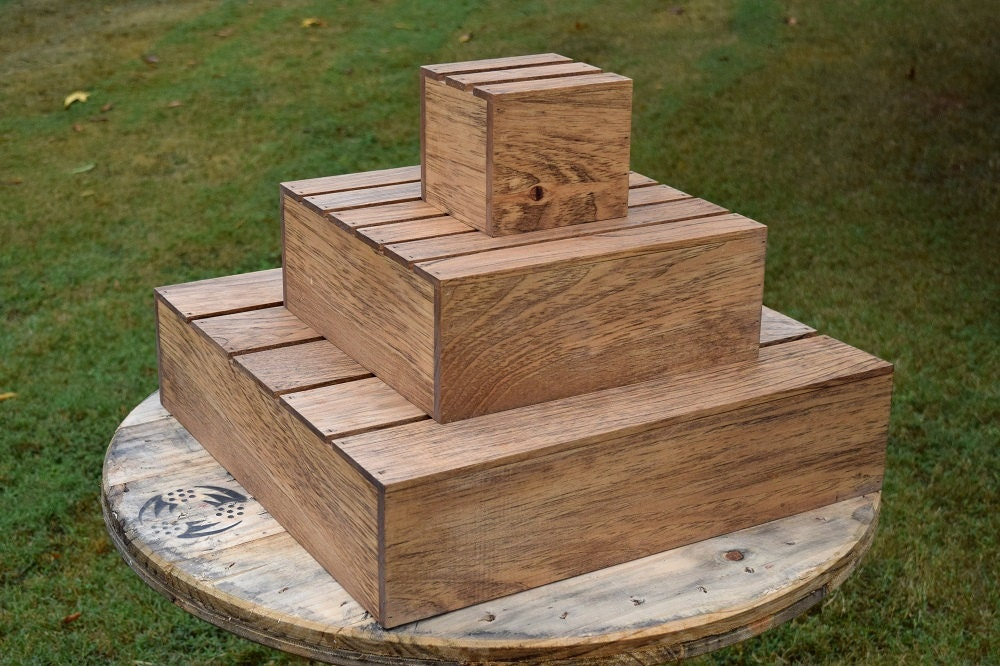 Wood Cupcake Stand 3 Tier Cupcake Holder Cupcake Stand 3