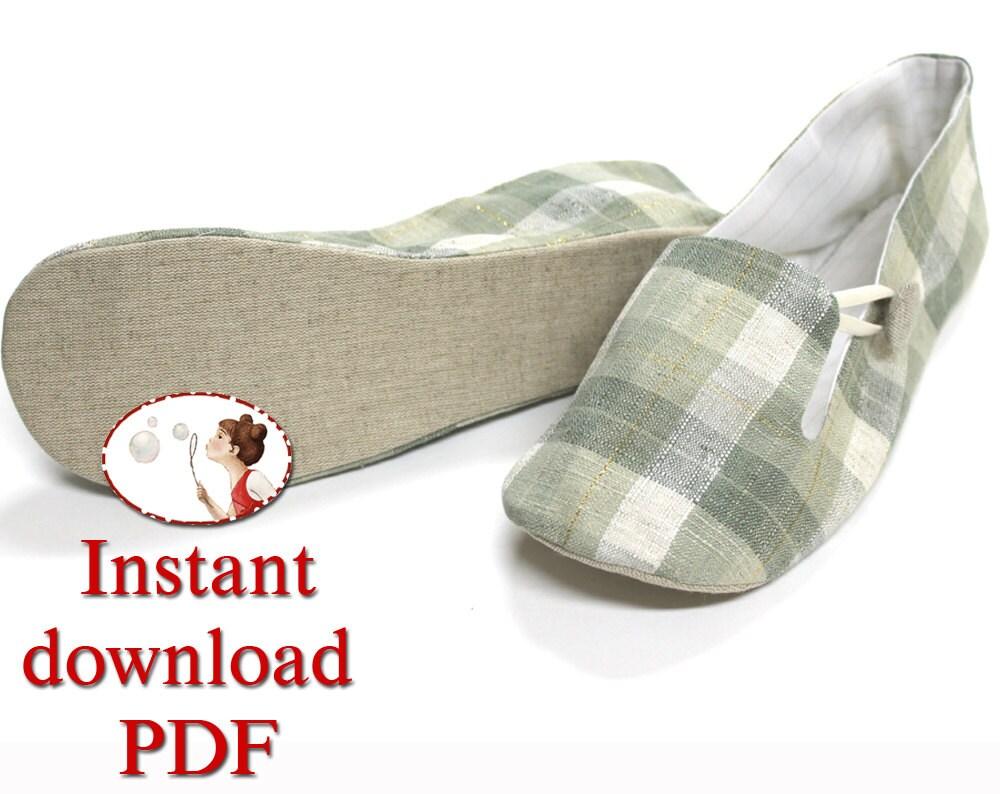 Free Downloadable Women S House Shoe Pattern