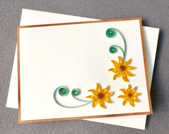 Mothers Day Card Handmade Quilling; For mother, Grandmother & Aunt; Birthday Card; Anniversary Card; Miss you Card; Baby shower Card