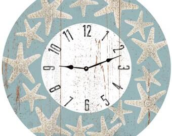 Starfish Clock- Starfish Beach Clock