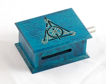 Harry Potter music box turquoise - melody paper strip