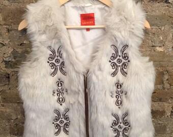 Faux Fur Waist Coat