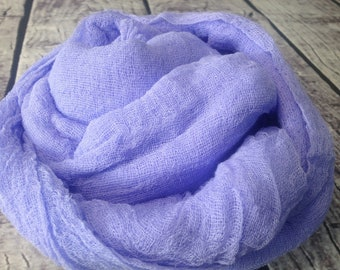 10 Meter Hand dyed Cotton Scrim, Gauze, Lightweight Open for Nuno Felting  Scarf for nuno felting, art and wraps, width 36 inches