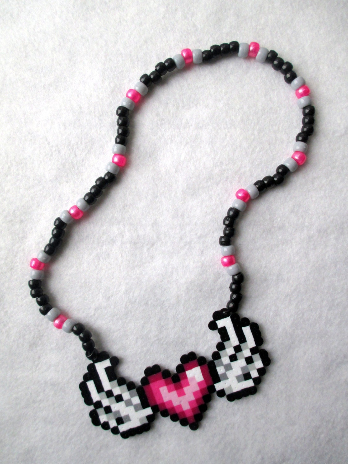 fullxfull wings necklace s perler zoom valentines il flying heart valentine day kandi bead listing