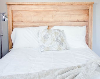 Rustic Headboard, Farmhouse Headboard, Queen Headboard