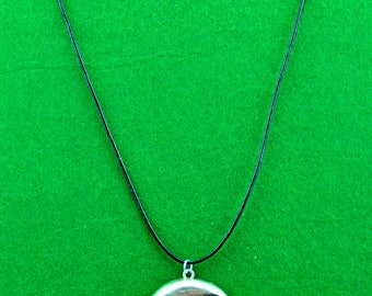 Large Metal Owl Pendant Necklace