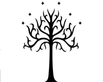 White Tree of Gondor Wall Decal