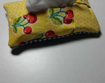 Cheery Cherry Travel Tissue Pouch