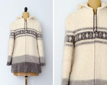 Vintage Icewool Hooded Parka Coat // Made in Iceland - Women's Vintage L