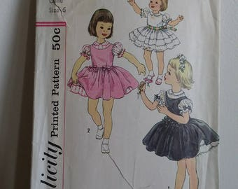 Vintage Children's and Maternity Patterns, Sets of 3