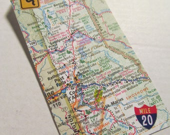 Road Trip Gift Tag/Bookmark -- Idaho, Coeur d'Alene, Post Falls, Sandpoint, Bonners Ferry, St. Maries