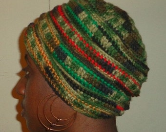 Solja Outta Space, Crochet African Headwrap