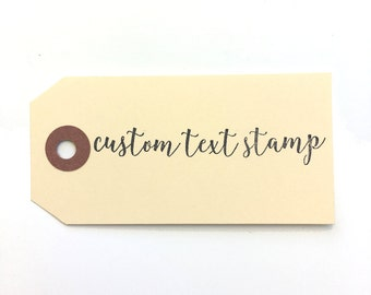 Personalized rubber stamp, Text Stamp, Custom rubber stamp, Personalized stamp, Signature Stamp, Custom name stamp, custom business stamp