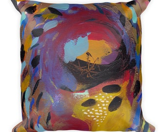 Square Pillow: Summer Carnival IV