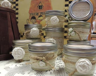 Scented Rustic Candles