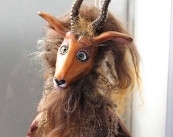 "Mundi Gove OOAK Art Doll ""Bok"""