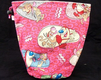 R/M/S/W Ren and Stimpy project bag