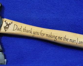 Father Of The Groom Gift ~ Gift For Dad ~ Groomsmen Gift ~ Engraved Gift ~ Hunting Gift ~ Camping Gift ~ Hunting ~ Hatchet ~ Wedding Party ~