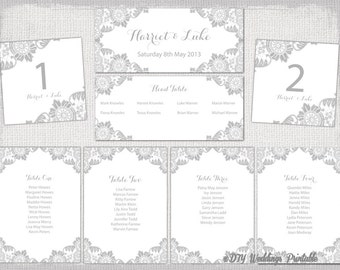 table seating plan template free download