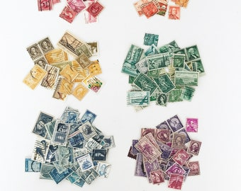 Vintage Stamps for Styling - Set of 20