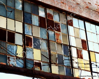 Detroit Photography - 11 x 14 Packard Plant Ruins - Detroit, Michigan
