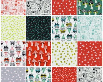 PRESALE: Front Yard by Sarah Watts for Cotton + Steel - Charm Square Pack