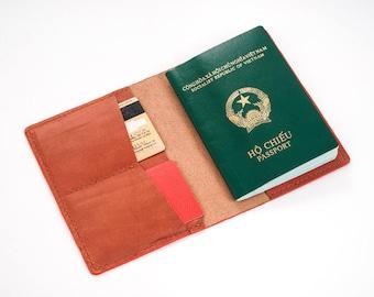 Passport Wallet Leather Pattern 1