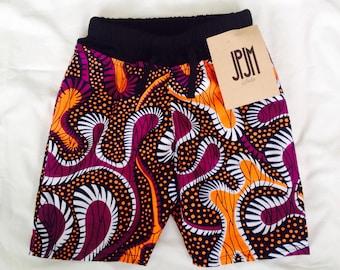 Les enfants africains pants pantalons courts 12 mois - 4 ans été pantalon fonds enfant en bas âge