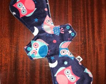 "14"" Super/Postpartum Minky Night Owls"