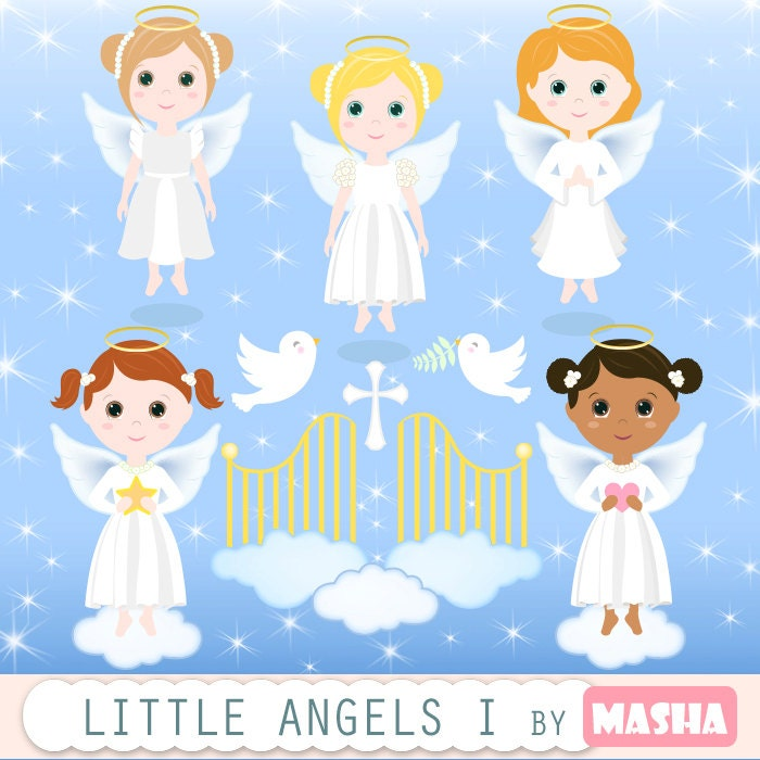 Angels clipart: \